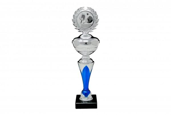 Pokal silber blau_1